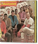 St. Louis Cardinals, 1968 World Series Champions Sports Illustrated Cover Acrylic Print