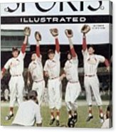 St. Louis Cardinals Sports Illustrated Cover Acrylic Print