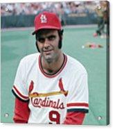St. Louis Cardinals Player Joe Torre Acrylic Print