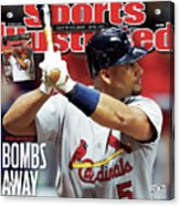 St Louis Cardinals V Milwaukee Brewers - Game 6 Sports Illustrated Cover Acrylic Print