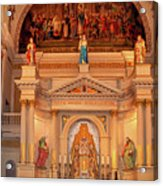 St. Louis Cathedral Altar New Orleans Acrylic Print