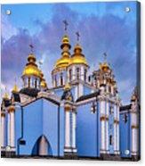 St. Michael's Golden-domed Monastery Acrylic Print