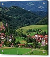 St. Peters Abbey, Black Forest, Germany Acrylic Print