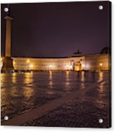 St. Petersburg Palace Square Acrylic Print