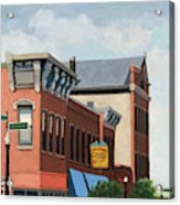 Standing Tall -local City Buildings Acrylic Print