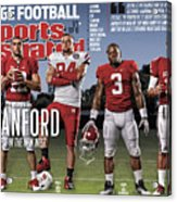 Stanford University Qb Andrew Luck, 2011 College Football Sports Illustrated Cover Acrylic Print