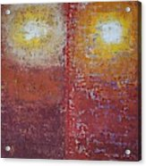 Staring Into The Suns Original Painting Acrylic Print