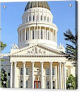 State Of California Capitol Building 7d11736 Acrylic Print
