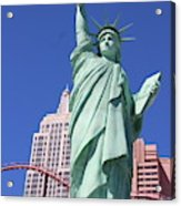 Statue Of Liberty Replica In Las Vegas Acrylic Print
