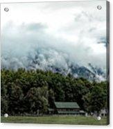 Steaming White Mountains Acrylic Print