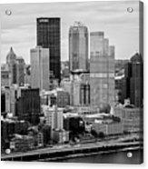 Steel City Skyline Acrylic Print