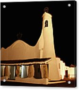 Stella Maris Church In Porto Cervo With Acrylic Print