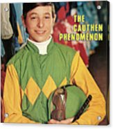 Steve Cauthen, Horse Racing Jockey Sports Illustrated Cover Acrylic Print