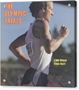 Steve Scott, 1980 Us Olympic Track & Field Trials Sports Illustrated Cover Acrylic Print