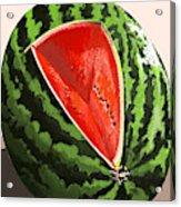 Still Life Watermelon 1 Acrylic Print