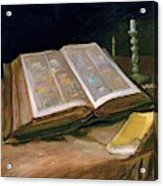 Still Life With Bible - Digital Remastered Edition Acrylic Print