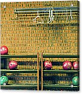 Still Life With No Glow In Dark Balls Acrylic Print