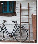 Still Life With Old Barn Acrylic Print