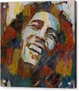 Stir It Up - Retro - Bob Marley Acrylic Print