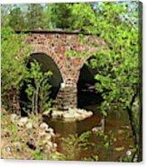 Stone Bridge At The Eastern Entrance Of The Manassas Battlefield  Acrylic Print