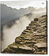Stone Inca Trail Acrylic Print