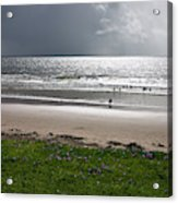 Storm Brewing Over The Sea Acrylic Print
