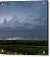 Storm Chasing West South Central Nebraska 048 Acrylic Print