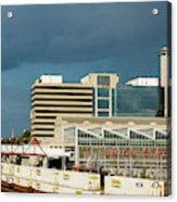 Storm Over Union Station Acrylic Print