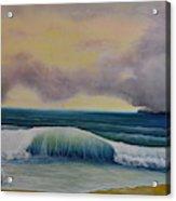 Storm Waves Acrylic Print