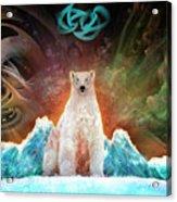 Stranded Polar Bear Acrylic Print