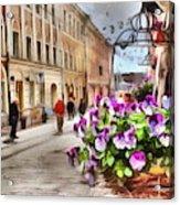 street Helsinki Finland Acrylic Print