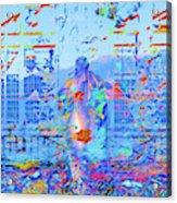 Street Performer Acrylic Print