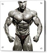 Strong Male Model Acrylic Print