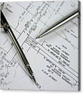 Subdivision Development Planning Acrylic Print