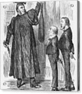 Such Good Boys, 1888. Artist Joseph Acrylic Print