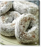 Sugar Doughnuts Acrylic Print