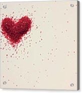 Sugar Heart Acrylic Print