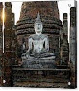 Sukhothai Buddha Acrylic Print