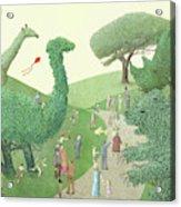 Summer Park Acrylic Print