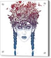 Summer Queen Acrylic Print