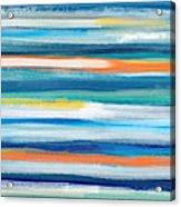 Summer Surf 3- Art By Linda Woods Acrylic Print