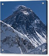 Summit Of Mt Everest8850m Great Details Acrylic Print