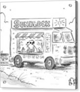 Sunblock Acrylic Print