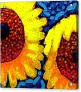 Sunlover Quintet  Acrylic Print