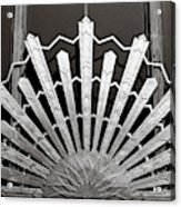 Sunrays Sunburst Art Feature Acrylic Print