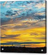 Sunrise At Beaumont Acrylic Print