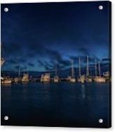 Sunrise In Rockport Acrylic Print