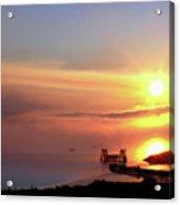 Sunrise - Morning Calm Acrylic Print