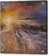 Sunrise Over The Ocean Acrylic Print