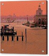 Sunrise, Venice Acrylic Print